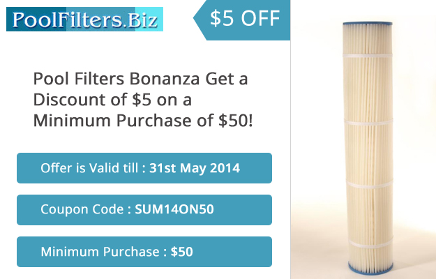 Buy Quality Pool Filters Now & Get a Discount of $5!
