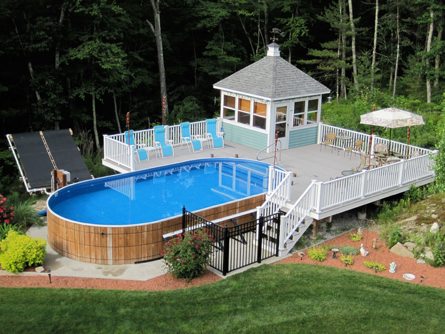 Maintaining above ground pools with quality pool filters for Quality pool design