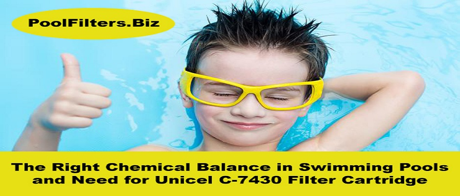 The Right Chemical Balance in Swimming Pools and Need for Unicel C 7430 Filter Cartridge