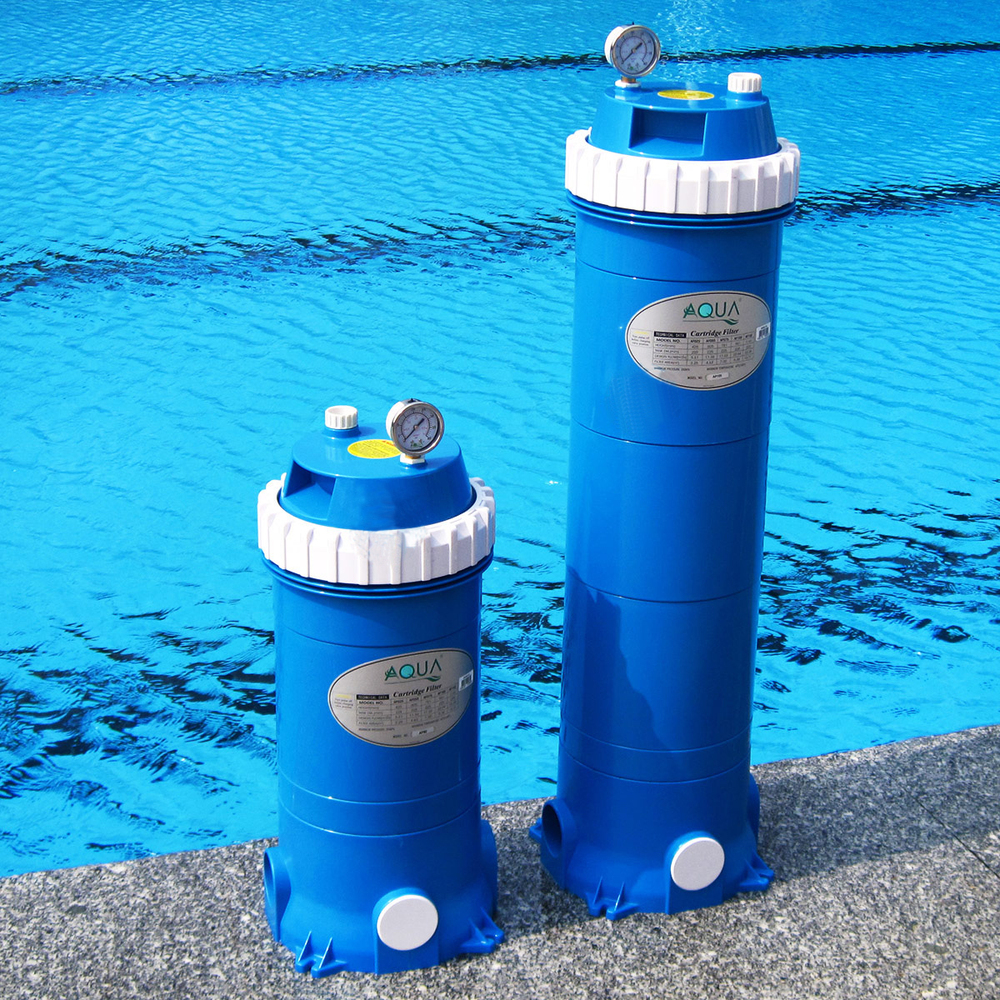 Cartridge filter ensures long life for swimming pools for Obi filtersand pool