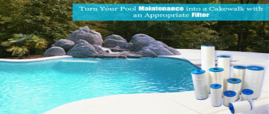 Turn Your Pool Maintenance into a Cakewalk with an Appropriate Filter