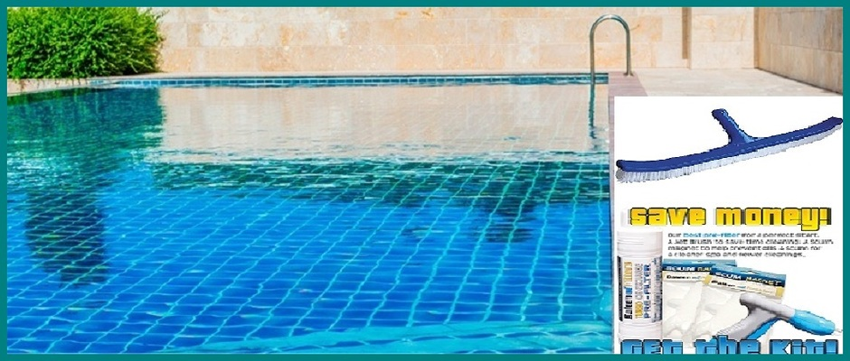 An Easy Way to Clean Pool and Spa Tiles