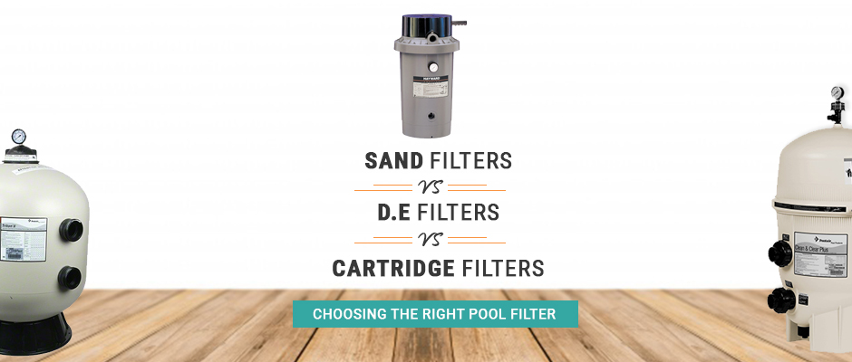 Differences Between Sand DE and Cartridge Filter Systems