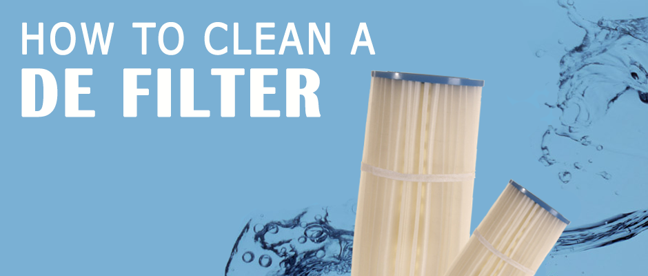 How to Clean a DE Filter